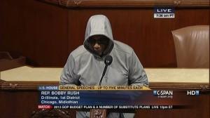 Bobby Rush Trayvon Martin hoodie