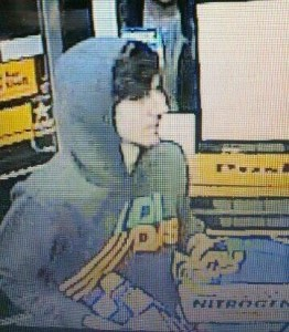 Boston Marathon bombing suspect in the white hat  photo is a screenshot of the suspect from a 7/11 camera