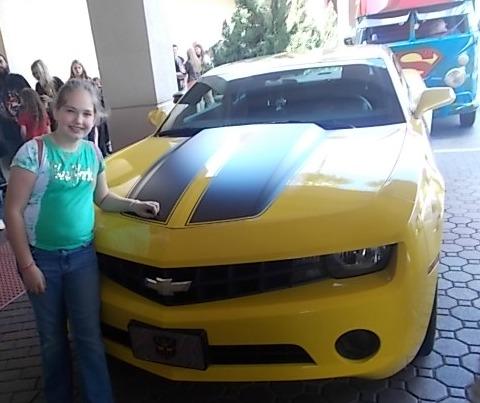Bumblebee Camaro Tampa Comic Con