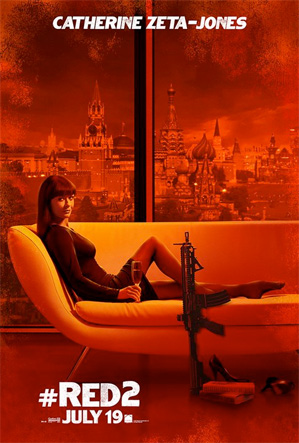 Catherine Zeta Jones Red 2 poster