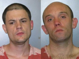 (L-R) Corey Clark and Christopher Baughn (Photo: Jeffco Jail)