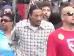 Shooting suspect at Denver 420 rally