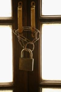 Door chain lock Not Today the Movie
