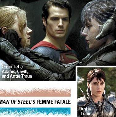 EW Superman Man of Steel photo Antje Traue