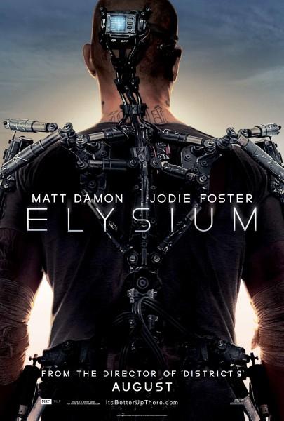 Elysium-poster Matt Damon