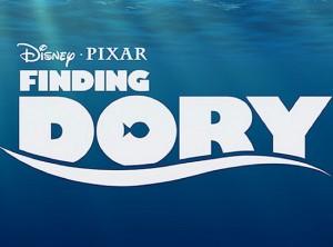 Finding Dory logo Pixar 2015 film