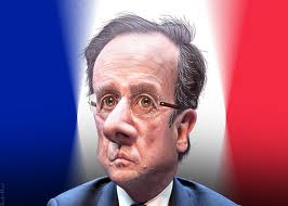 John Kerry met with Francois Hollande as Paris police arrested a dozen in connection to recent terrorist attacks photo donkeyhotey  donkeyhotey.wordpress.com