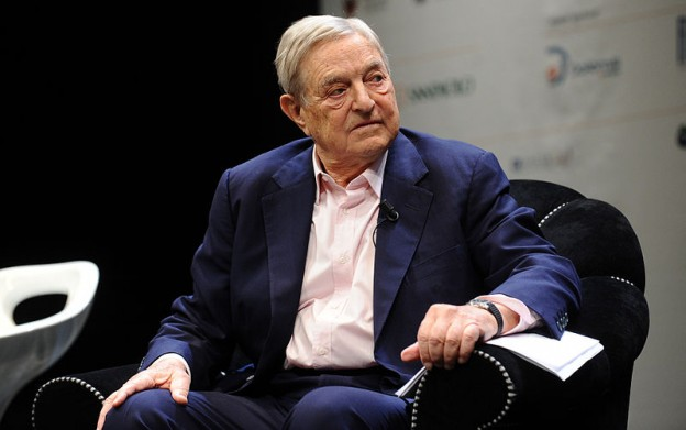 George Soros - Festival of Economics 2012 - Trento photo Niccolò Caranti via wikimedia commons