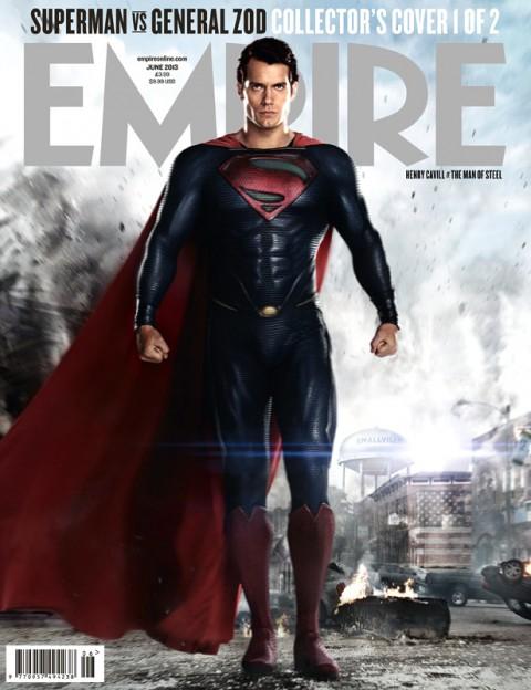 Henry Cavill Superman Empire Magazine cover