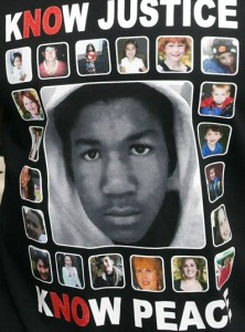 Jamie Foxx Trayvon Martin Newtown victims shirt