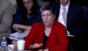 Janet Napolitano denies 'Person of Interest' deportation  photo screenshot YouTube coverage