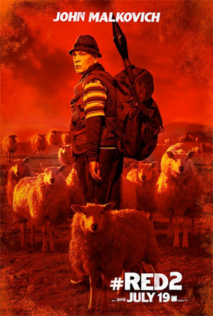 John Malkovich Red 2 poster