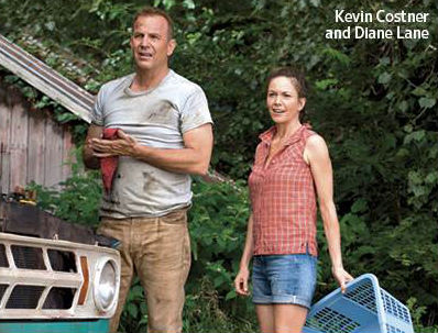 Kevin Costner Diane Lane as Kents Man of Steel photo
