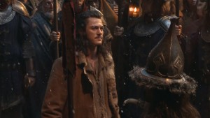 Luke Evans as Bard the Bowman in Hobbit