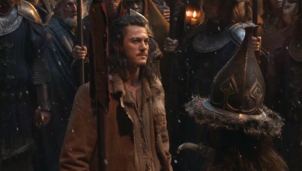 Luke Evans as Bard the Bowman in Hobbit
