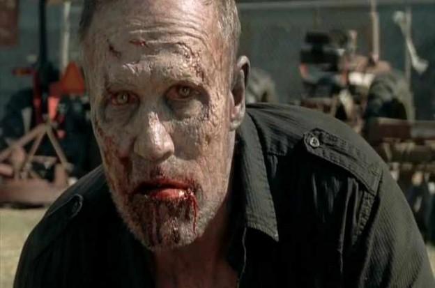 Michael Rooker Merle zombie Walking Dead
