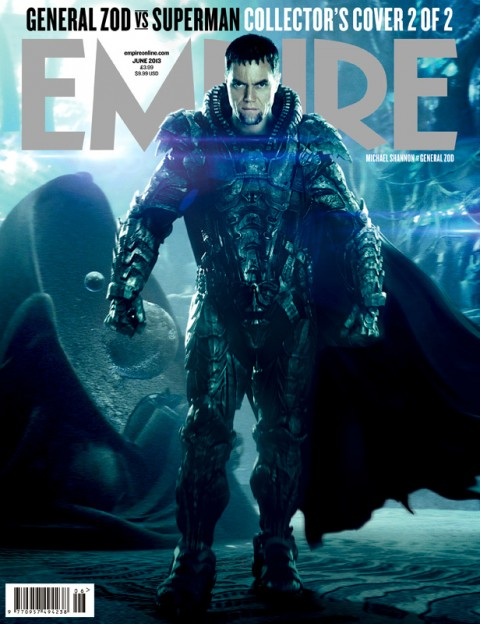 Michael Shannon general zod Empire magazine