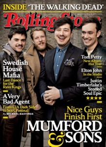 Mumford & Sons ROlling Stone cover