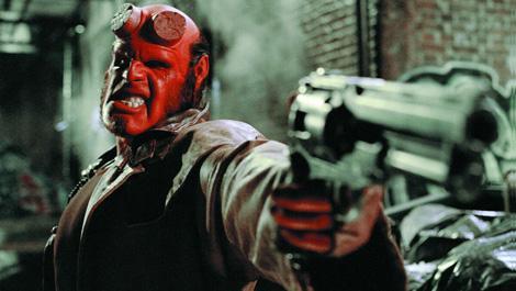 Ron Perlman as Hellboy photo