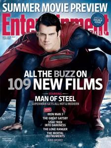 Superman Man of Steel EW cover magazine