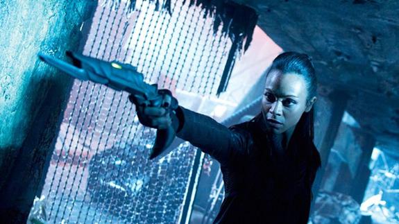 Uhura Zoe Saldana Star Trek Into Darkness photo
