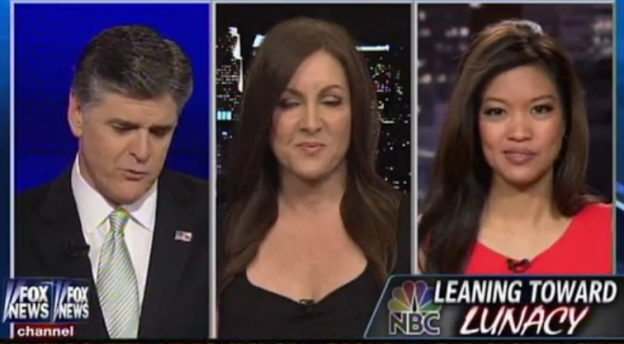 Sean Hannity, Leslie Marshall, Michelle Malkin Image/Video Screen Shot