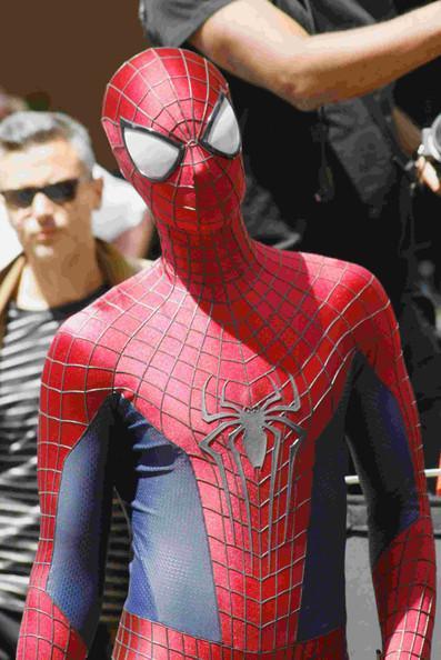 Amazing Spider Man 2 Photo Round Up New Photos Of