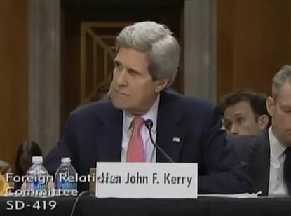 Sec. of State John Kerry Image/Video Screen Shot