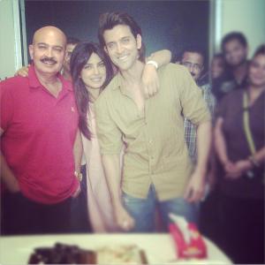 Krrish 3 wraps up Image Courtesy: Priyanka Chopra on Instagram (peeceelicious)