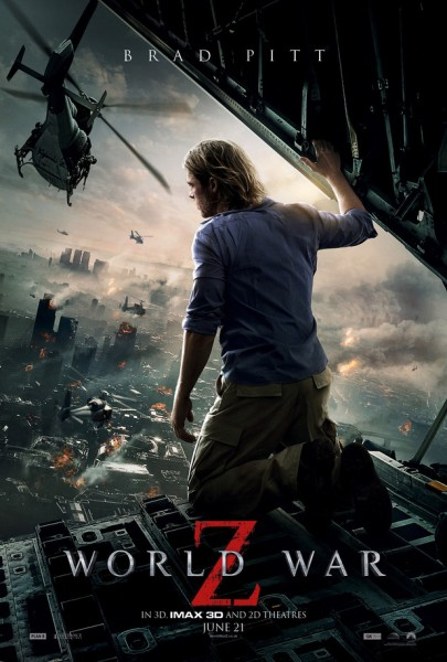 world-war-z-poster Brad Pitt looking damage