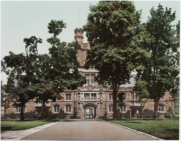 Blair Hall at Princeton University Public domain photo/Wikimedia commons