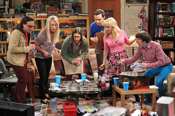 Big Bang Theory cast playing Dungeons and Dragons