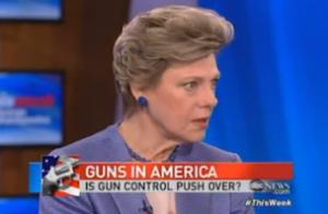 Cokie Roberts gun control