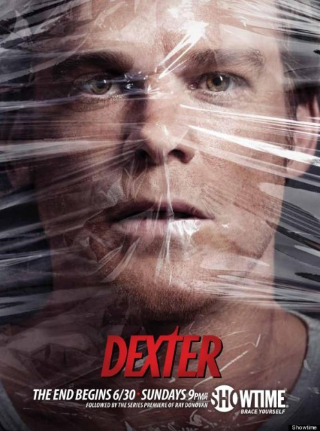 DEXTER-SEASON-8 under plastic phoster