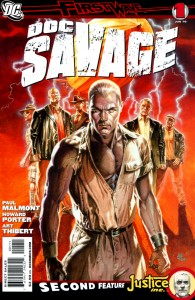 Doc Savage comic book