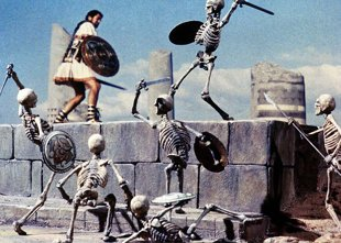 Jason Argonauts skeleton sword fighting