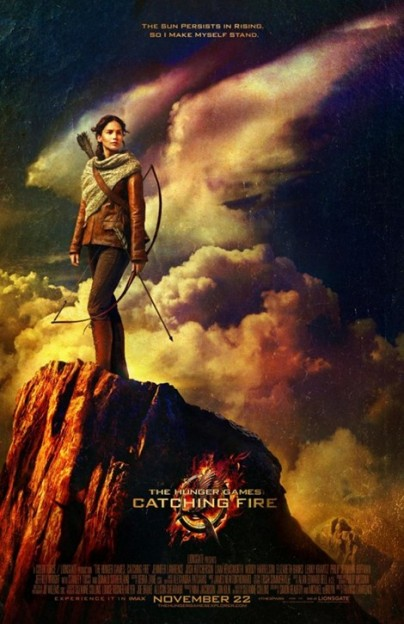 Jennifer Lawrence Katniss Hunger Games Catching Fire poster