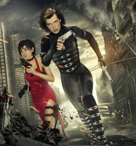 Li Bingbing Resident Evil poster Milla