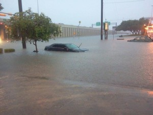 San Antonio flooding photo Texas Storm Chasers Facebook page