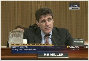 Steve Miller IRS head commissioner
