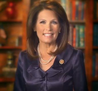 Minnesota Rep. Michelle Bachmann Image/Video Screen Shot