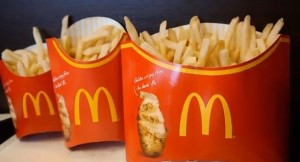 Mega Potato compared to other fries sizes Image/Video Screen Shot