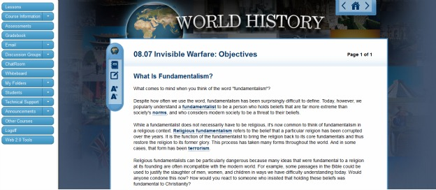 history christianity terrorism