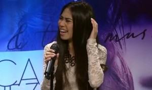 Jessica Sanchez Image/Video Screen Shot