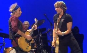Keith Richards and Keith Urban Image/Video Screen Shot