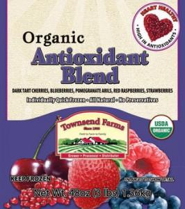 Townsend Farms Organic Antioxidant Blend Image/Townsend Farms press release