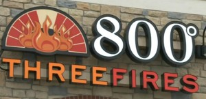 800 Degrees Three Fires restaurant Image/Video Screen Shot