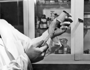 Old rabies vaccine photo/CDC