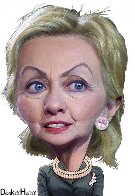 Hillary Clinton serious