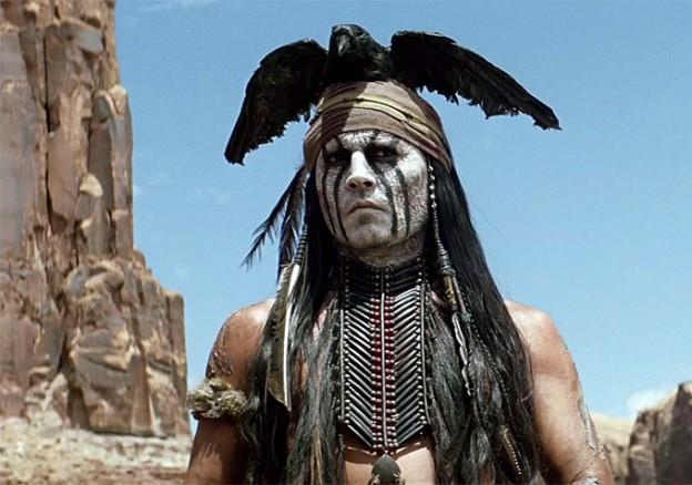 Johnny Depp as Tonto Lone Ranger